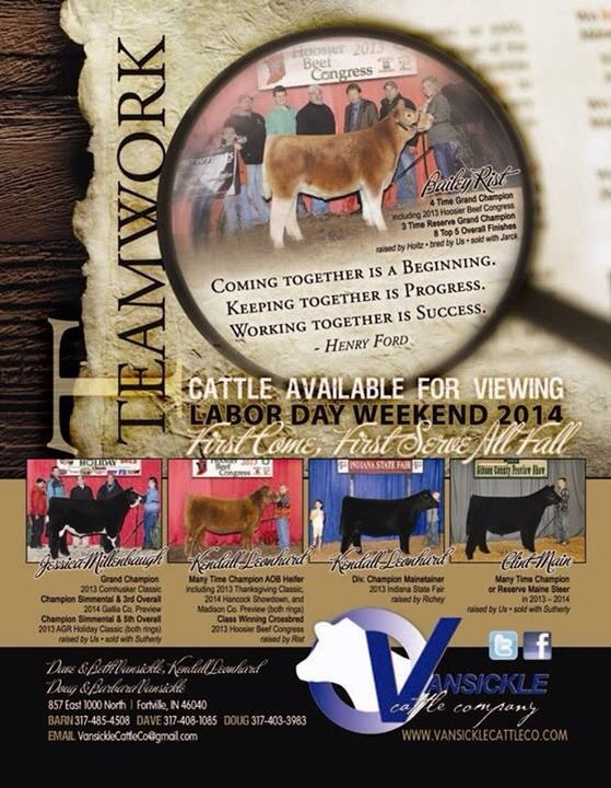 Vansickle Cattle Company – Indiana | Competitive Edge Genetics